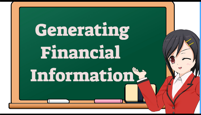 generating financial information