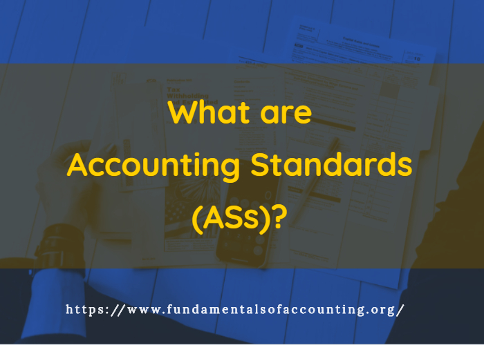 what are accounting standards