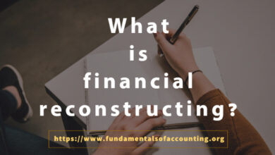 what is financial reconstructing
