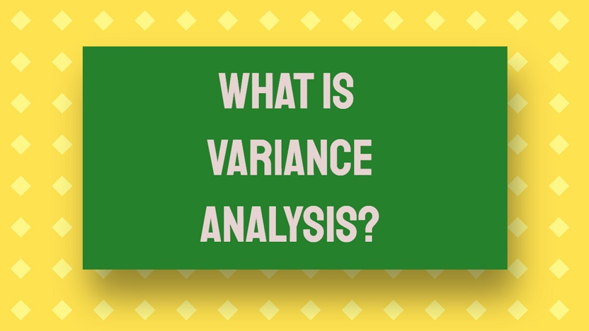 what is variance analysis