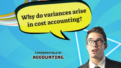 why do variances arise