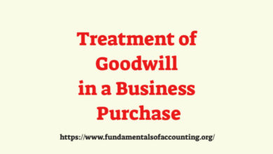 treatment of goodwill in amalgamation