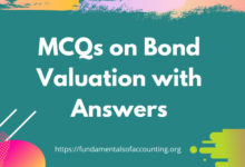 MCQs on Bond Valuation