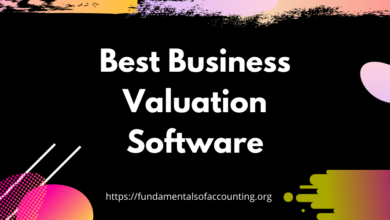 the best business valuation software